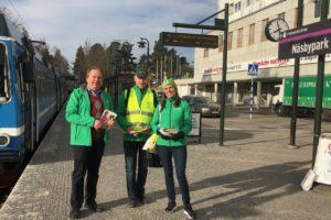 Centerpartiet kampanj i Näsbypark – för ett företagsklimat i världsklass