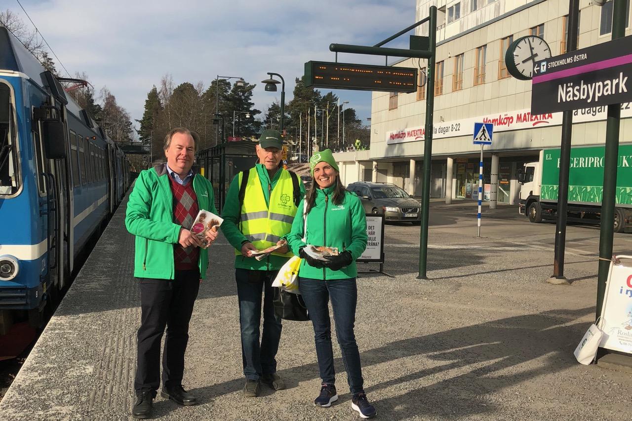 You are currently viewing Centerpartiet kampanj i Näsbypark – för ett företagsklimat i världsklass