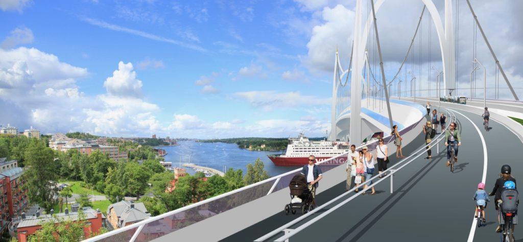 Bygg Österbron för alla trafikslag