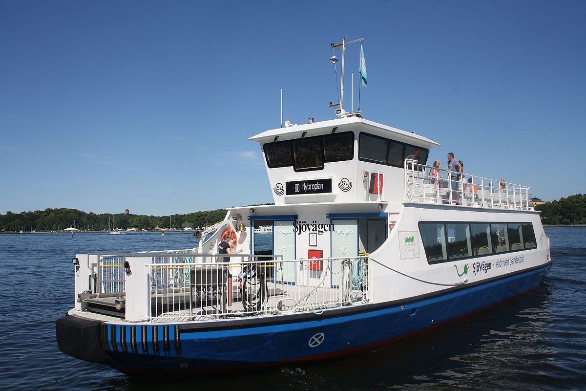 Ta pendelbåten från Täby till stan