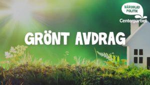 Läs mer om artikeln Inför ett grönt avdrag för klimatsmarta investeringar