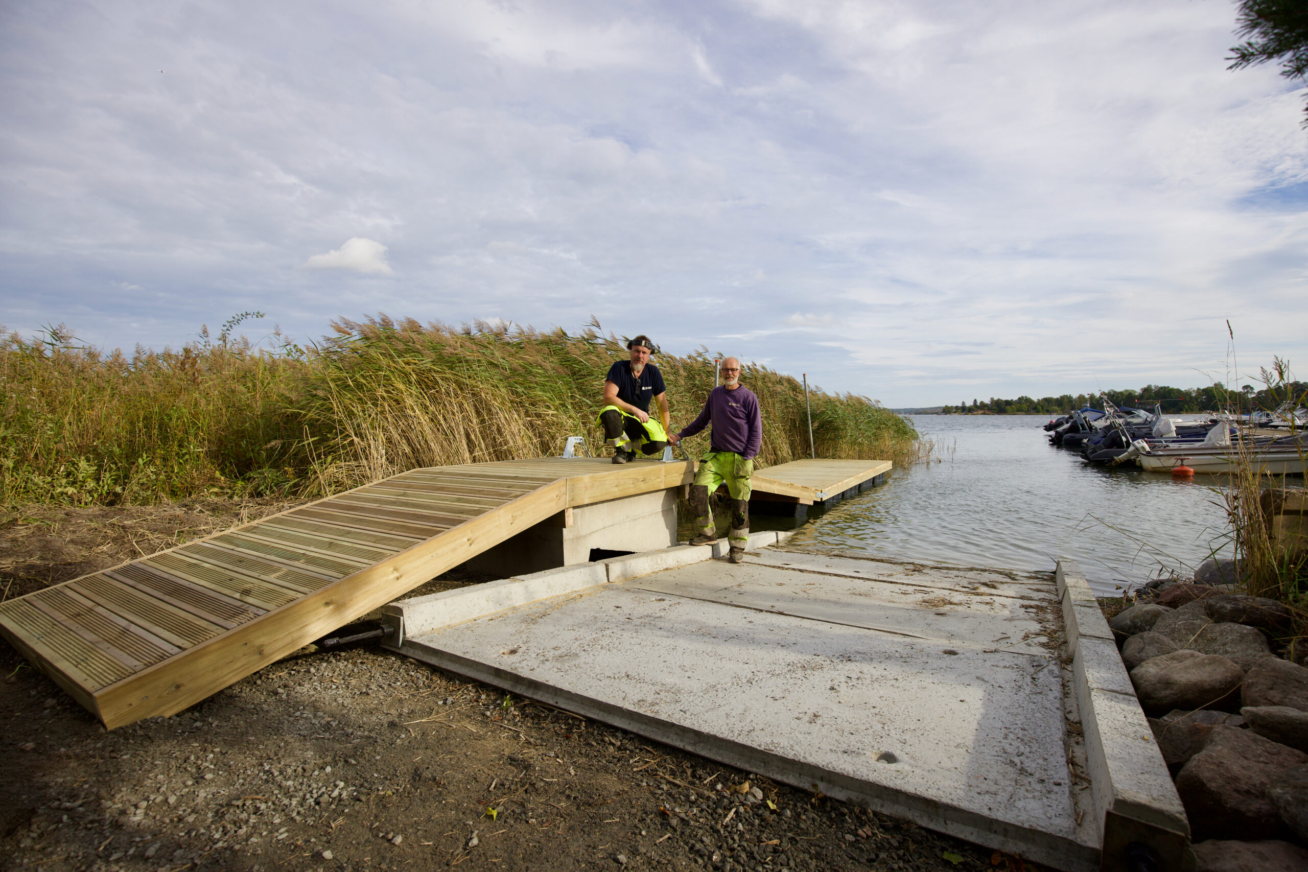 You are currently viewing Minst en fri sjösättningsramp för småbåtar i Täby